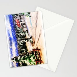 Winter Christmas Home Stationery Cards