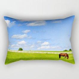 Summer Grazing Rectangular Pillow