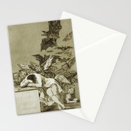 Francisco Goya - The Sleep Of Reason Produces Monsters Stationery Cards