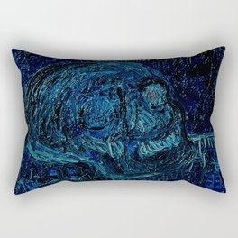 The Skull and the Key Rectangular Pillow