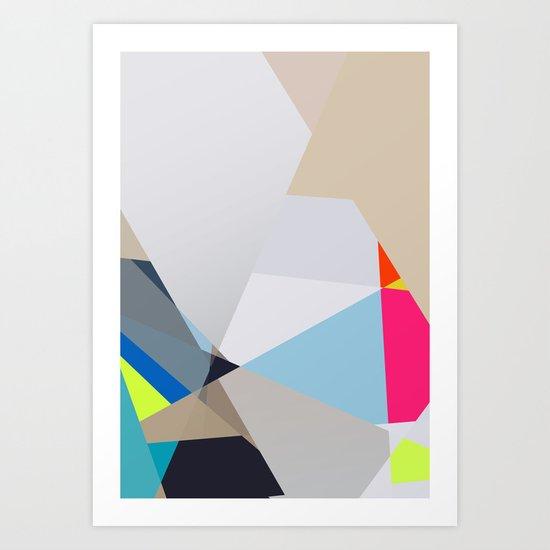 Neon sign 3/3 Art Print