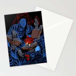 Dungeons, Dice and Dragons - The Dungeon Master Stationery Cards