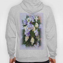 Roses and Freesias Hoody
