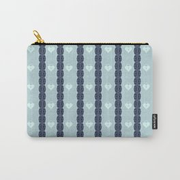 Blue Locket Carry-All Pouch