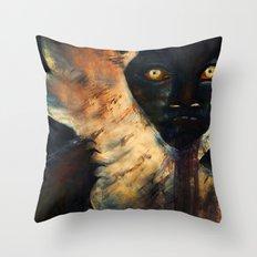 Lurker Throw Pillow
