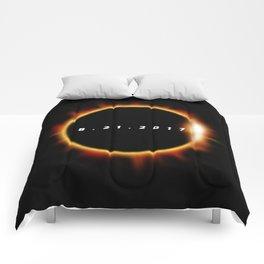 Total Solar Eclipse August 21 2017 Comforters