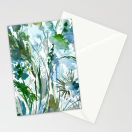 marelle: watercolor floral Stationery Cards
