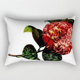 Vintage Bloom Rectangular Pillow