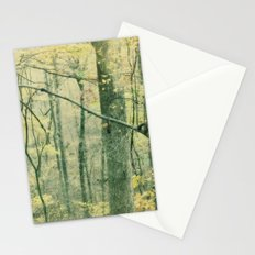 the other side of autum Stationery Cards