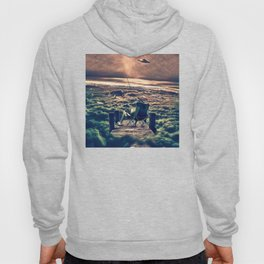 Fishing Above the Clouds Hoody
