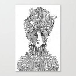 Primcess Canvas Print