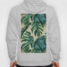 Tropical Island Republic Green on Linen Hoody