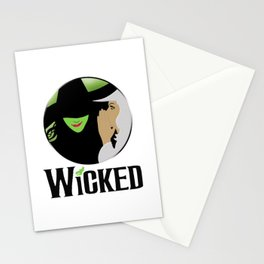 broadway musical wicked Stationery Cards