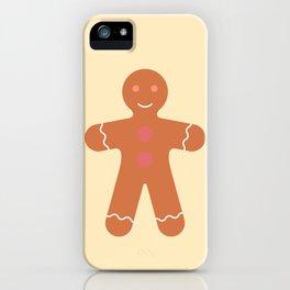#89 Gingerbread Man iPhone Case