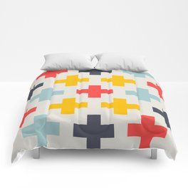 Retro Cross Heaven Comforters