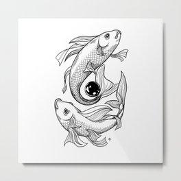 Magic Fish Metal Print