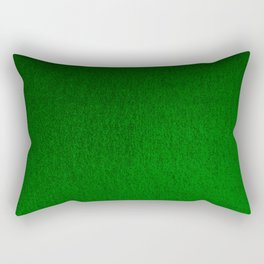 Emerald Green Ombre Design Rectangular Pillow