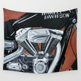 Harley Rider Wall Tapestry