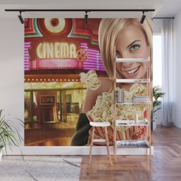 CINEMA POP Wall Mural