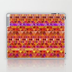 Fire Diamond Pattern Laptop & iPad Skin
