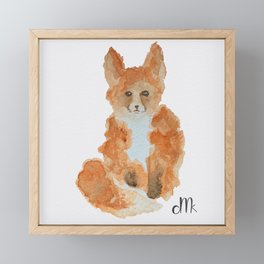 Red Fox Framed Mini Art Print