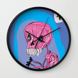 Mr. Pink Wall Clock