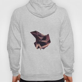 3D purple flying object Hoody
