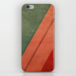 Sailing Between Mountains iPhone Skin