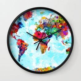 World Map - 2 Wall Clock