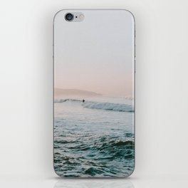 summer waves iPhone Skin