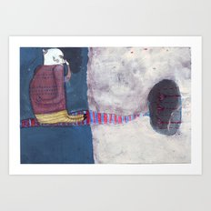it smells Art Print