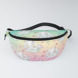 Kyubey Pattern Fanny Pack