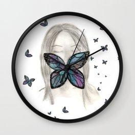 El silencio aprendió a volar Wall Clock