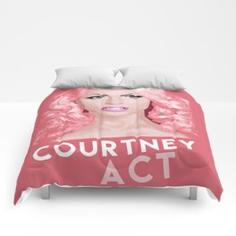 Courtney Act, RuPaul's Drag Race Queen Comforters