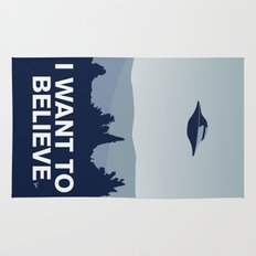 My X-files: I want to believe poster Rug