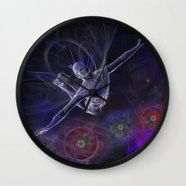 Galactic Acrobat Wall Clock