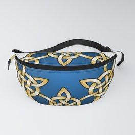 Royal Blue Mandala Knot Fanny Pack