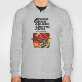 Escape from Flavortown - dungeons dragons Hoody