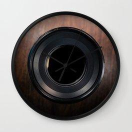 Professional Photography Lens closeup Wall Clock