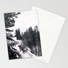 Snowy Trees Stationery Cards