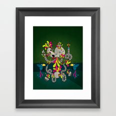 No more pills Framed Art Print