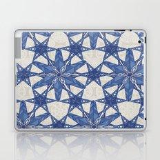 Delft snowflake Laptop & iPad Skin
