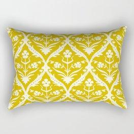 Tapish trellis ikat Rectangular Pillow
