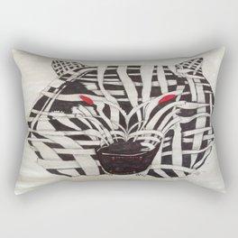 Mummy Wolf Rectangular Pillow