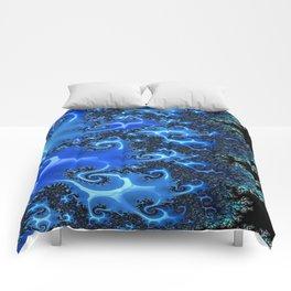 Blue Lace Comforters