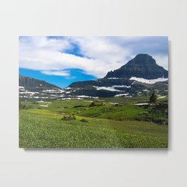Logans Pass, Glacier National Park Metal Print