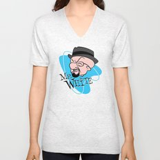Mr. White Unisex V-Neck