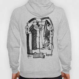 Waiting for Salvation - b&w Hoody