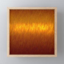 Digital Fire 2 Framed Mini Art Print