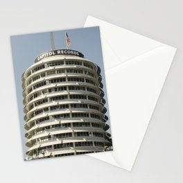 The Iconic Capitol Records Building Stationery Cards